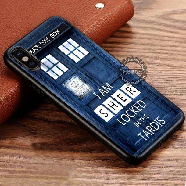 phone cover, movies, doctor who, tardis, sherlock, sherlock holmes ...