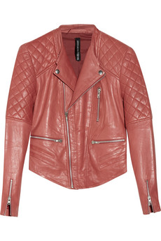 Mindy leather biker jacket | W118 by Walter Baker | THE OUTNET