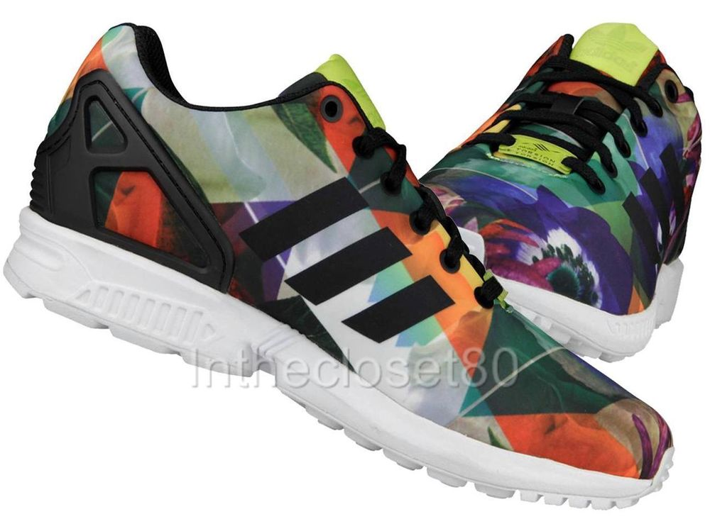 New adidas zx flux floral torsion city pack barcelona mens trainers m21064