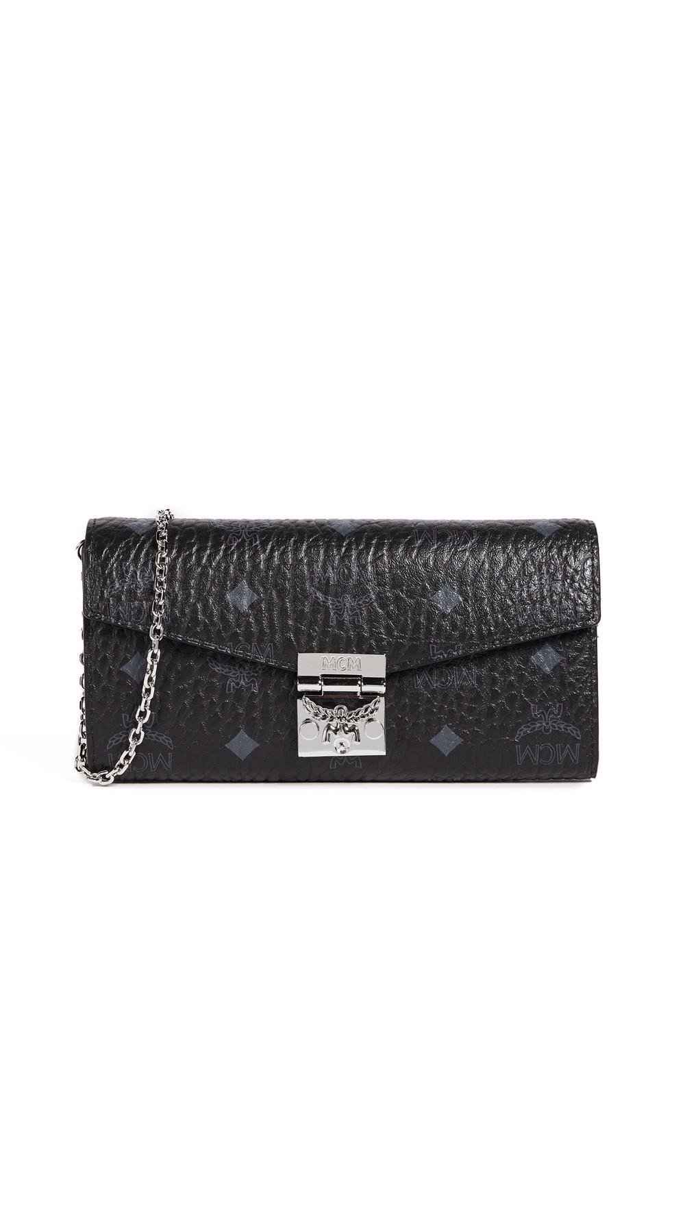 MCM Patricia Mini Bag in black