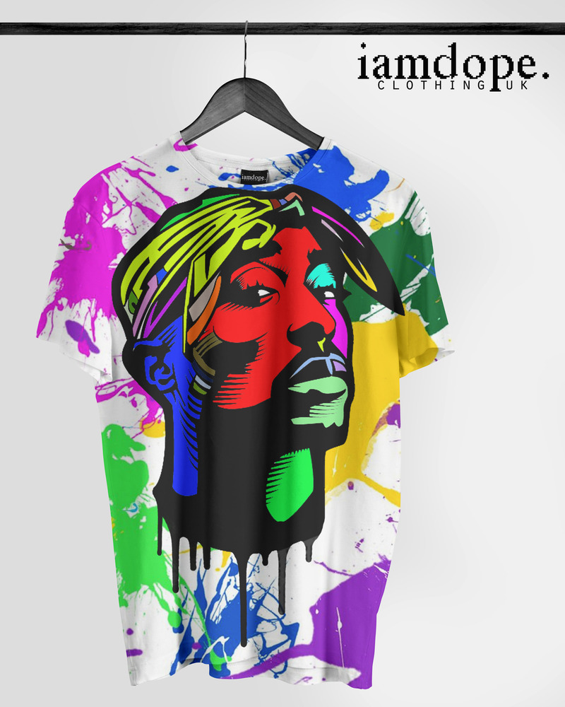 iamdope — 2pac colourful