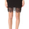 Carven lace skirt - noir