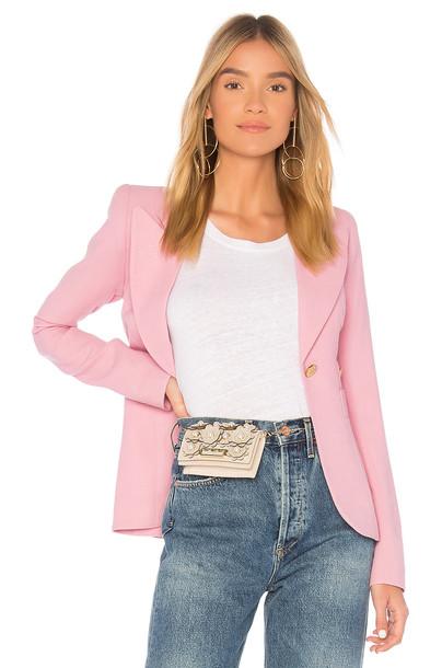 SMYTHE blazer pink jacket