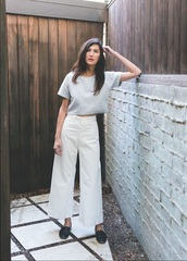 pants,summer,spring,white,high waisted,flare,sailor pants,sailor,palazzo pants,loose pants,white pants,white trousers,flare pants