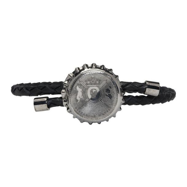 Alexander McQueen Black Cup Friendship Bracelet