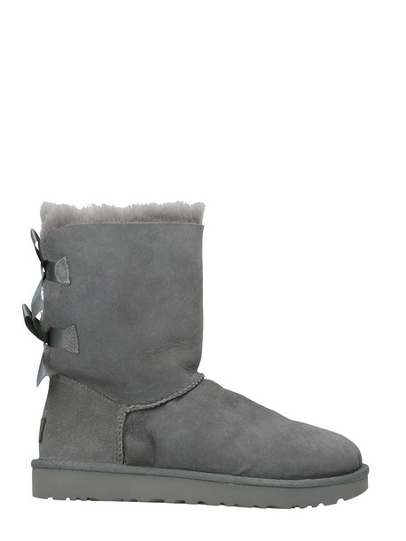 Ugg bow grey shoes