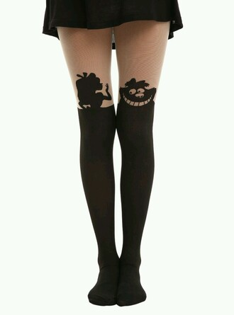 leggings disney alice in wonderland fashion pantyhose