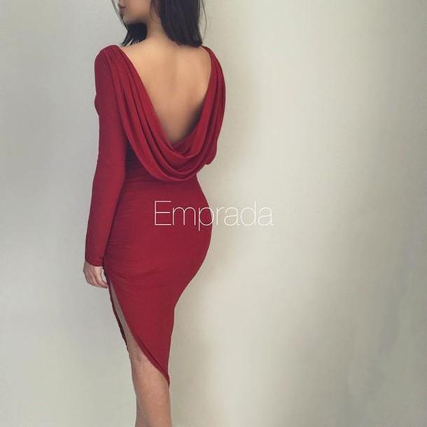 mini next drape previous dress missguided satin back drapes red