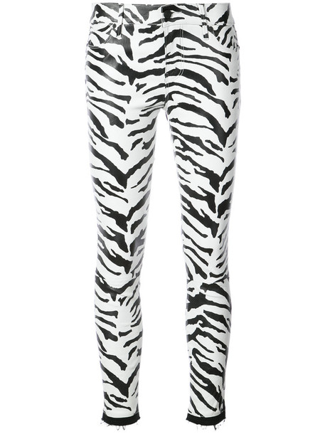 leggings zebra women white cotton print zebra print pants