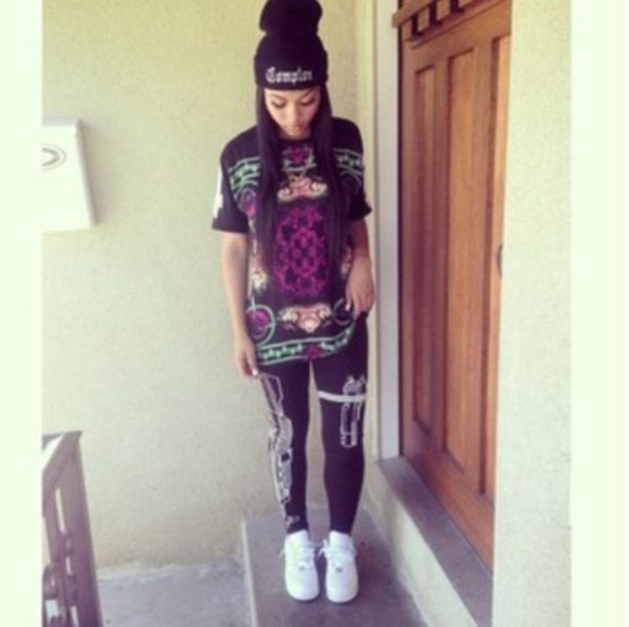 leggings tights t-shirt shirt india westbrooks
