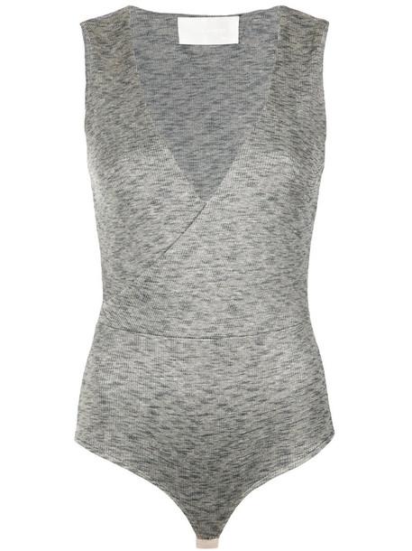 body style women spandex grey underwear