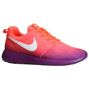 Nike Roshe Run - Women's - Running - Shoes - Laser Crimson/Bright Grape/White