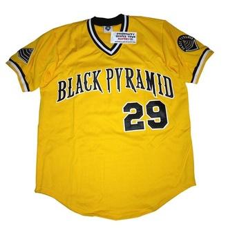 shirt black pyramid yellow chris brown