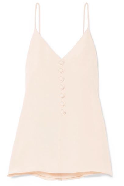 Hillier Bartley camisole silk cream underwear