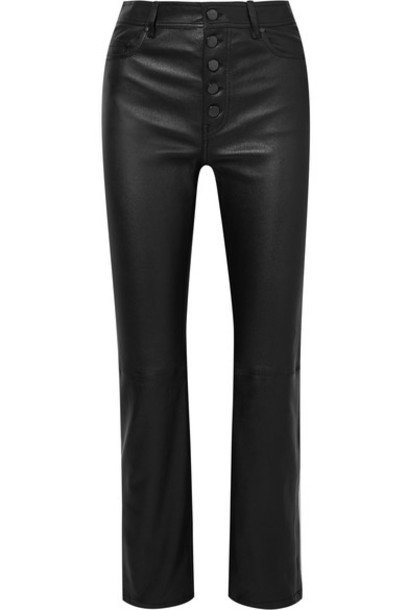 Joseph pants leather black