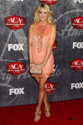 bag carrie underwood shoes jewels dress pink dress