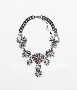 Aliexpress.com : Buy Fashion fashion accessories vintage crystal flower charm exaggerated bracelet from Reliable bracelet victorian suppliers on MoZhenJewelryFactory.