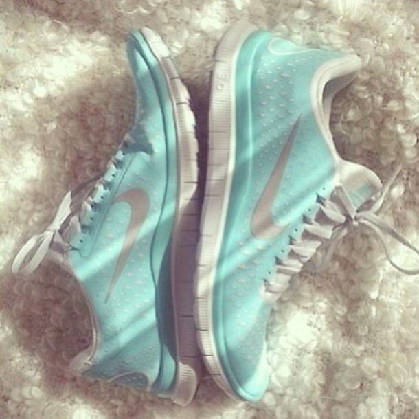 Shoes: nike, blue, workout, training, fitness, instagram, nike light