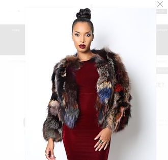 coat cold fur coat fur faux fur fashion new year's eve winter sweater