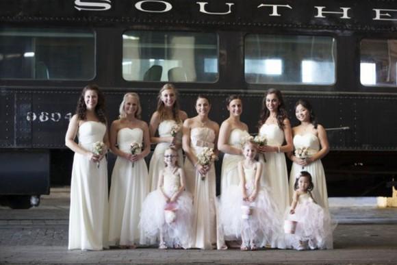 wedding clothes bridesmaid rustic wedding chic blogger