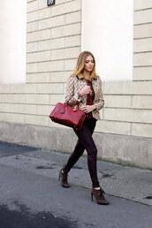 the blonde salad,shoes,jeans,sweater,jewels,coat,bag,loewe bag