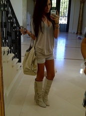 shoes,shorts,shirt,bag,blouse