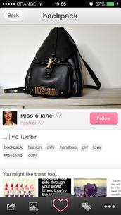 bag,girly,black,handbag,moschino,love