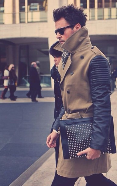 coat fashion clothes leather jacket trench coat winter coat summer summer outfits outfit menswear mens coat beige jacket style mens jacket mens trench coat
