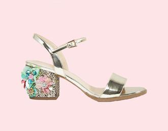 shoes sandals gold gold sandals embellished sandals embroidered sandals embroidered embellished asos jeweled sandals