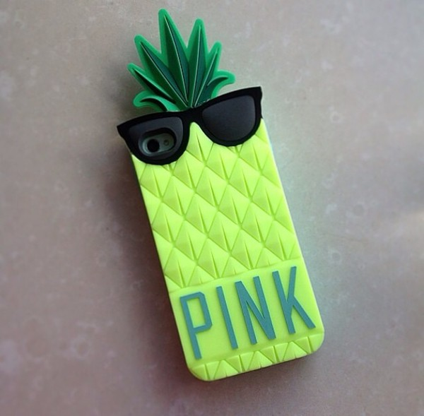 jewels phone cover accessories pineapple victorias secrt sunglasses jacket
