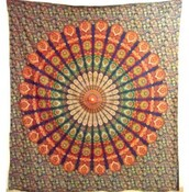 home accessory,mandala tapestry,wall hanging,bohemian tapestry,boho,tapestry,wall tapestry,home decor,beautiful,colorful mandala tapestry,mandala bedding,home improvement,textile,hippie,hippie tapestry,mandala round,Traditional Mandala