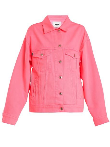 jacket denim jacket oversized denim jacket denim oversized pink