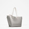 Metallic tote - view all-bags-woman | zara united kingdom