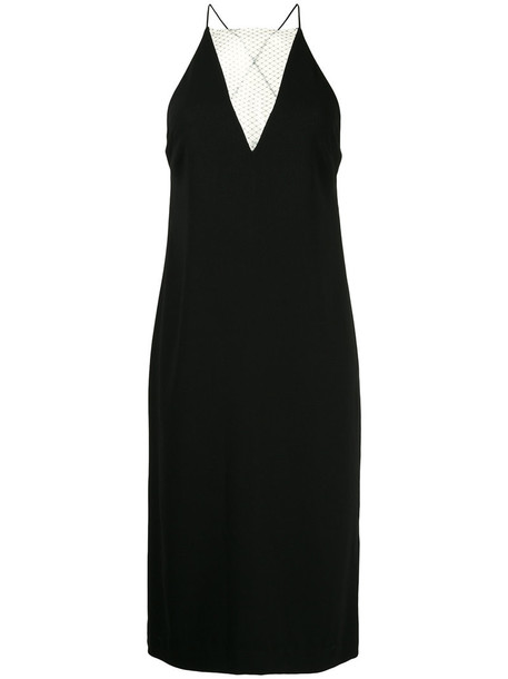 Dion Lee dress slip dress women lace black