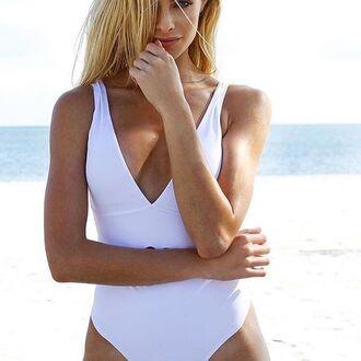 swimwear one piece bathing suit one piece white swimwear swimwear onepiece