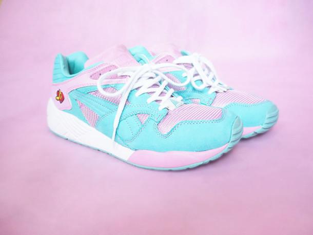 shoes puma sneakers sneakers trainers puma pastel sneakers