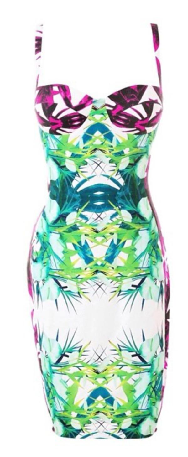 print dress sexy dress draya michele