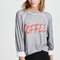 Shop wildfox coffee sommers sweatshirt tee in heather at modalist | m0005000291902