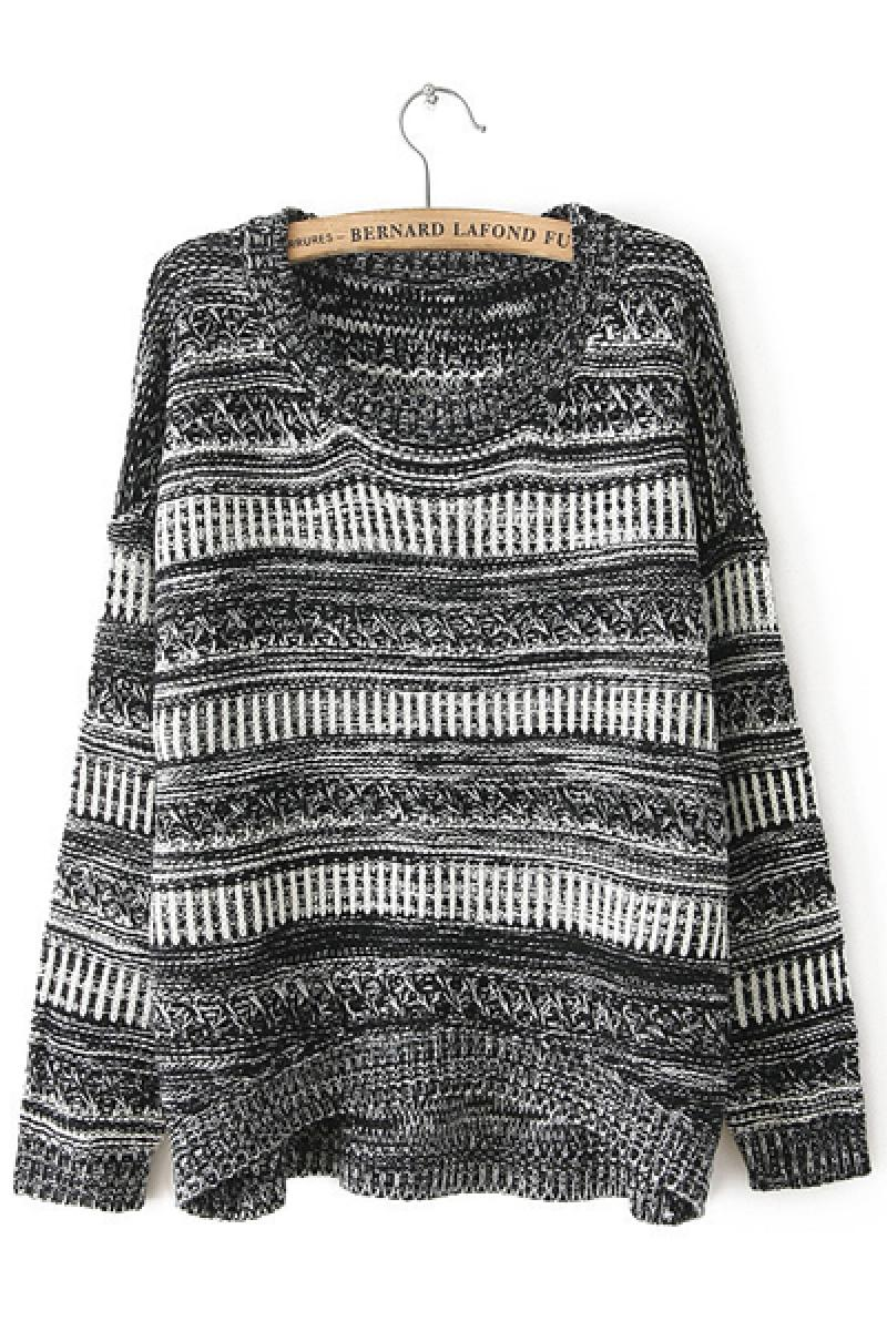 Autumn & Winter New Section Striped Sweater,Cheap in Wendybox.com