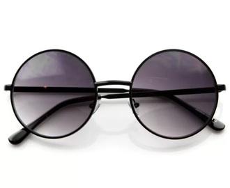 sunglasses black round sunglasses retro sunglasses