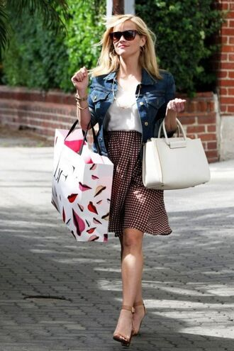 skirt midi skirt reese witherspoon