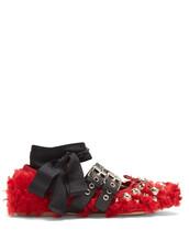 ballet,flats,ballet flats,red,shoes
