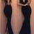 Black Maxi Elegant Cut Out With Back Slit Dress on Storenvy