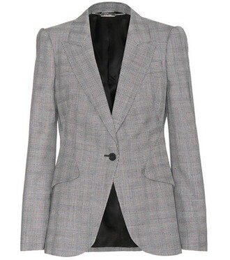 blazer wool black jacket
