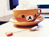 home accessory,rilakkuma,cup,teacup,tea cup,mug,kawaii accessory