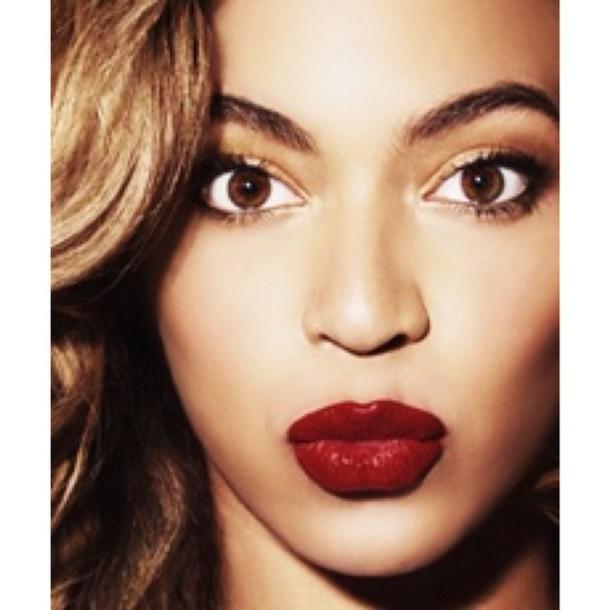 make-up beyonce lipstick lipstick