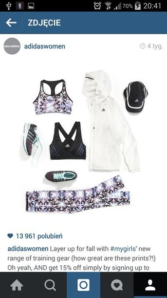 jacket adidas jacket adidas white running joggers jogging jacket running clothes women adidas women sportswear sportswear sporty
