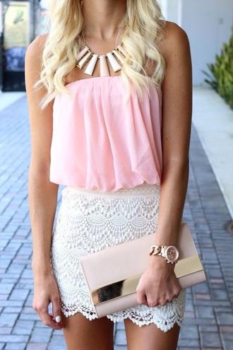 dress crochet dress pink dress