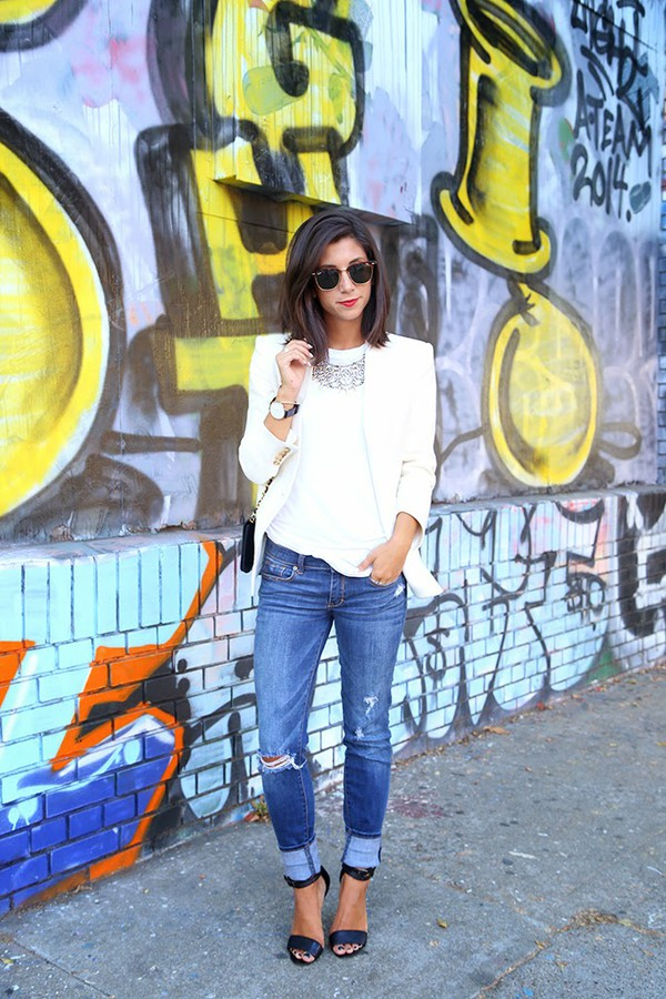 this time tomorrow blogger jacket jeans bag sunglasses jewels daniel wellington