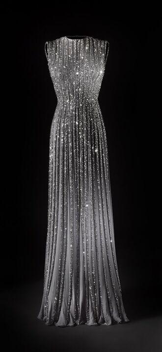 dress long sparkling